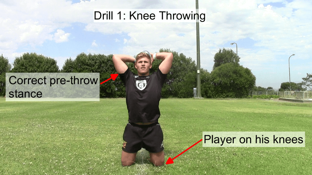Knee Throwing 1