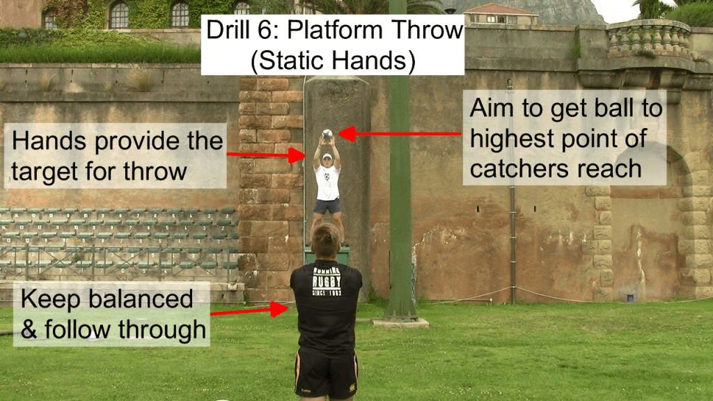 Platform Throw - Static Hands 2