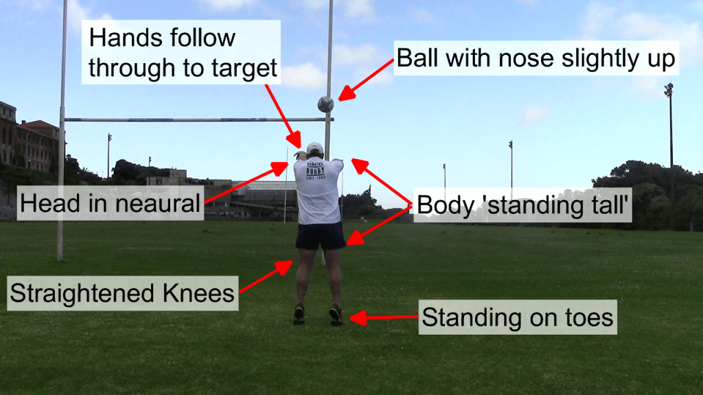 Standing Tall Throw - Behind 3