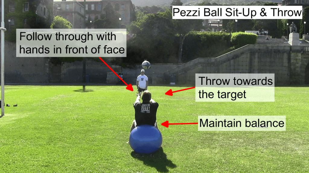 Pezzi Ball Sit Up & Throw 3