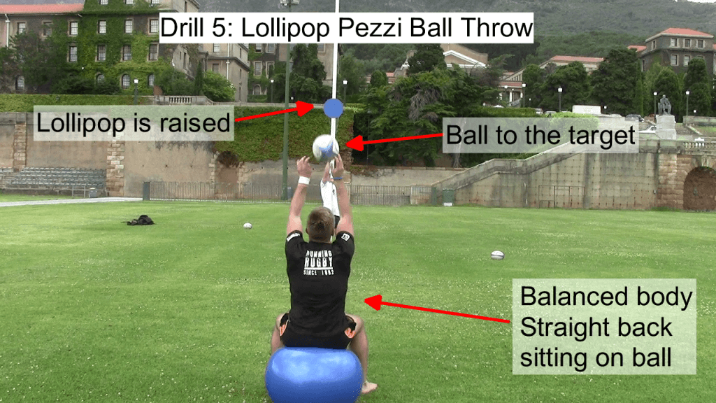 Lollipop Pezzi Ball Throw