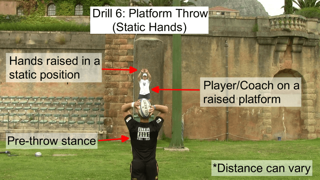Platform Throw - Static Hands 1