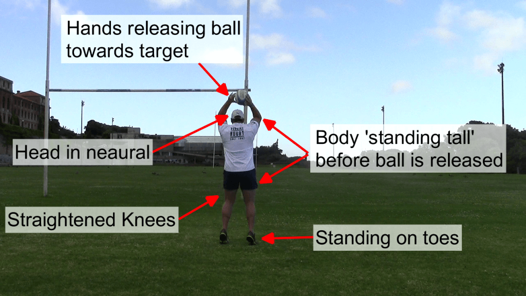 Standing Tall Throw - Behind 2