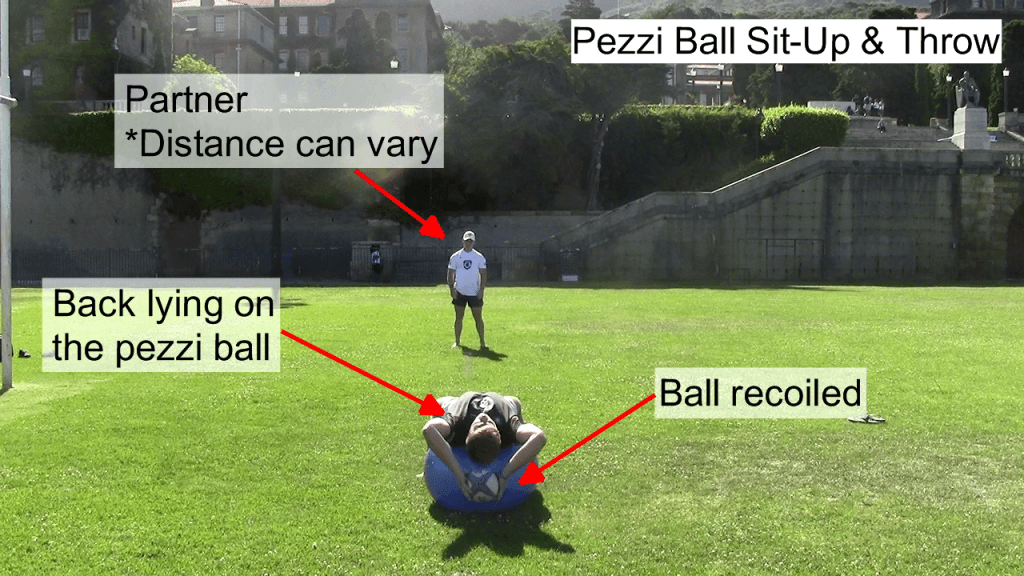 Pezzi Ball Sit Up & Throw 1