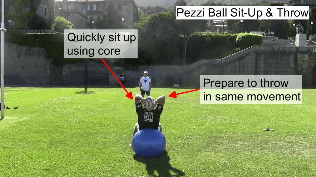 Pezzi Ball Sit Up & Throw 2